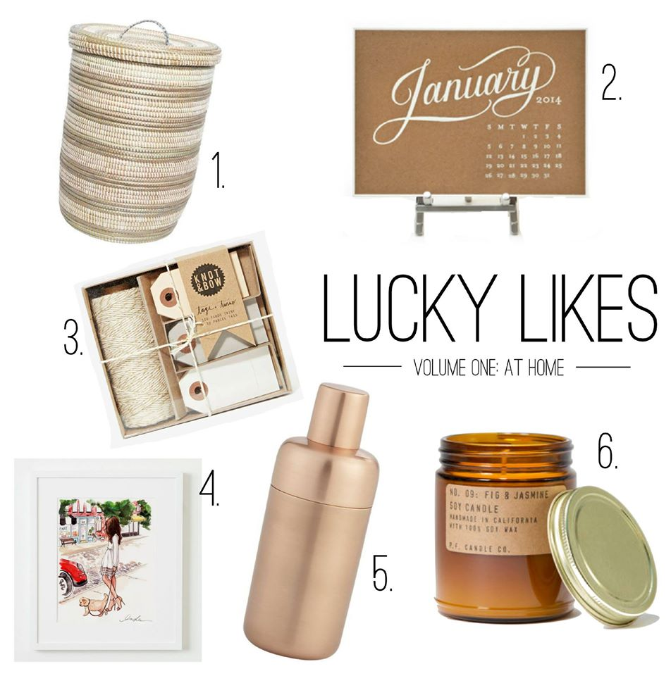 Lucky Likes - Favorite Things for the Home - Lucky Day Events Co. Wedding Planning