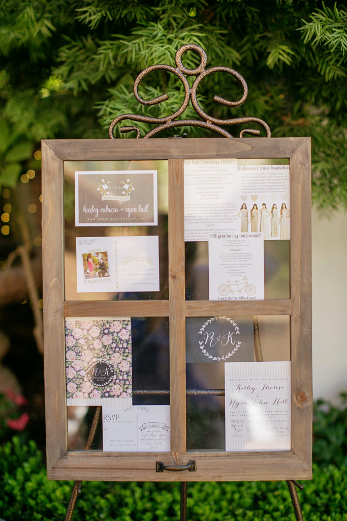 DIY Frame for Wedding
