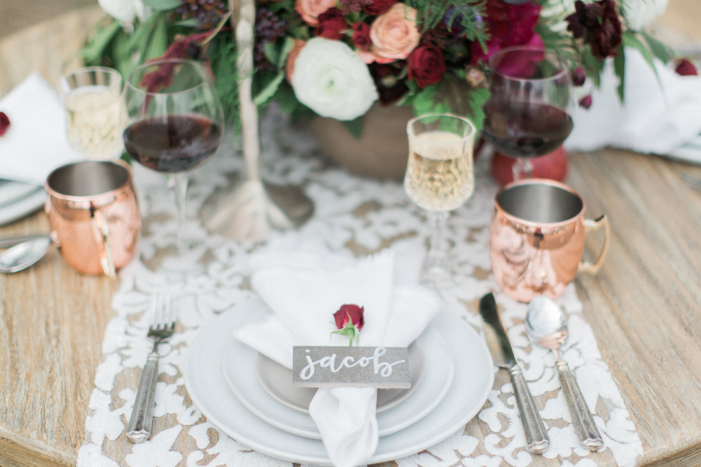 Berry Wedding Inspiration