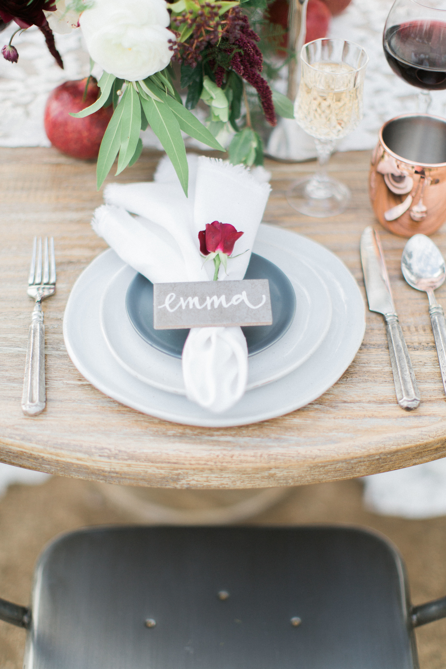 Escort Cards // Place Cards // Escort Boards // San Juan Capistrano Wedding // Devon Donnahoo Photography // Lucky Day Events Co.