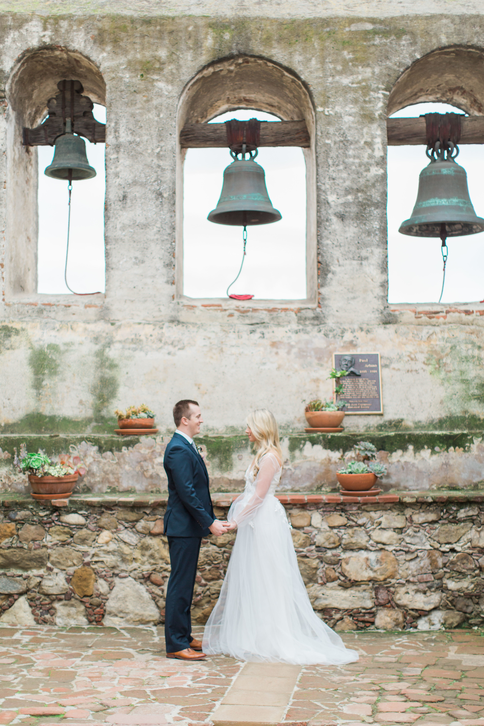San Juan Mission wedding photos