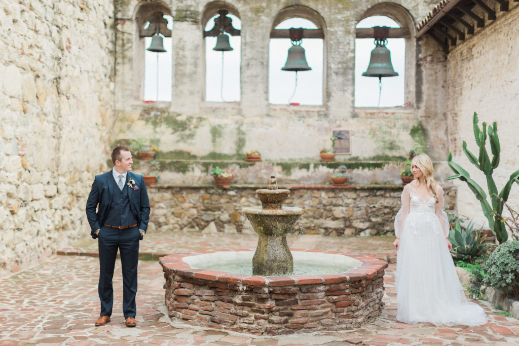 San Juan Mission wedding
