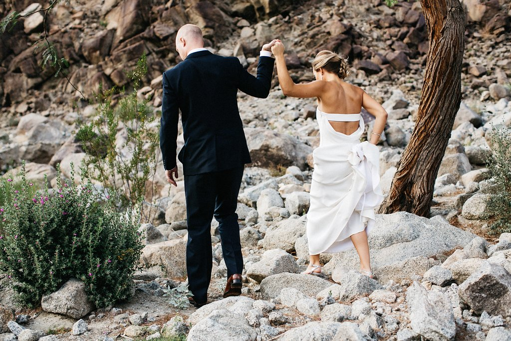Tradition Golf Club Wedding Portrait La Quinta Wedding