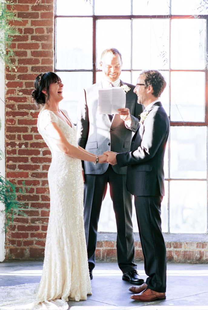 Downtown Los Angeles Loft Wedding // Gregory Ross Photography // Lucky Day Events Co. // Hudson Loft