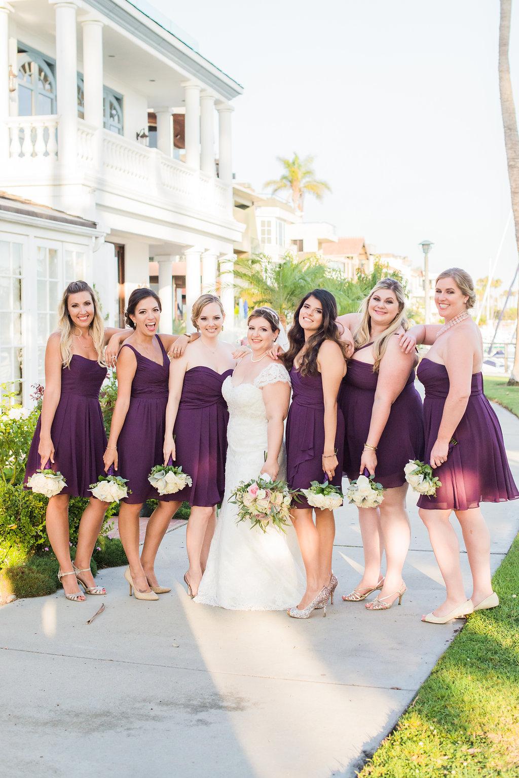 Mary Ann + Anderson Long Beach Wedding