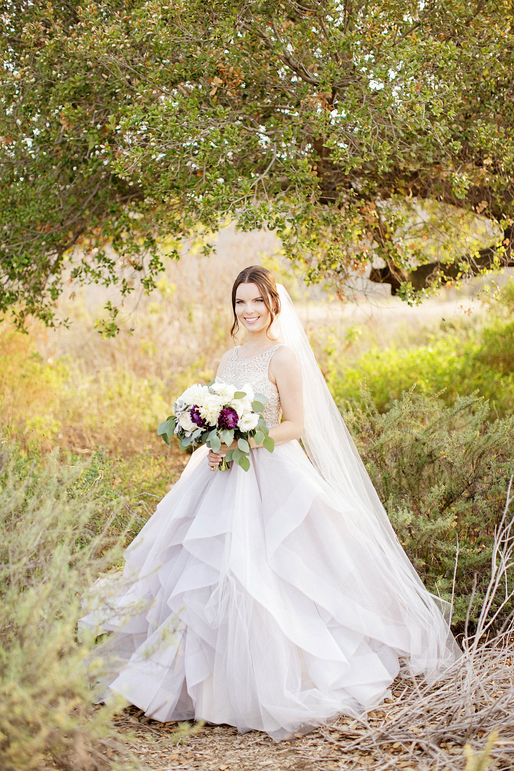 Hayley Paige Lilac Dress / Serra Plaza Wedding
