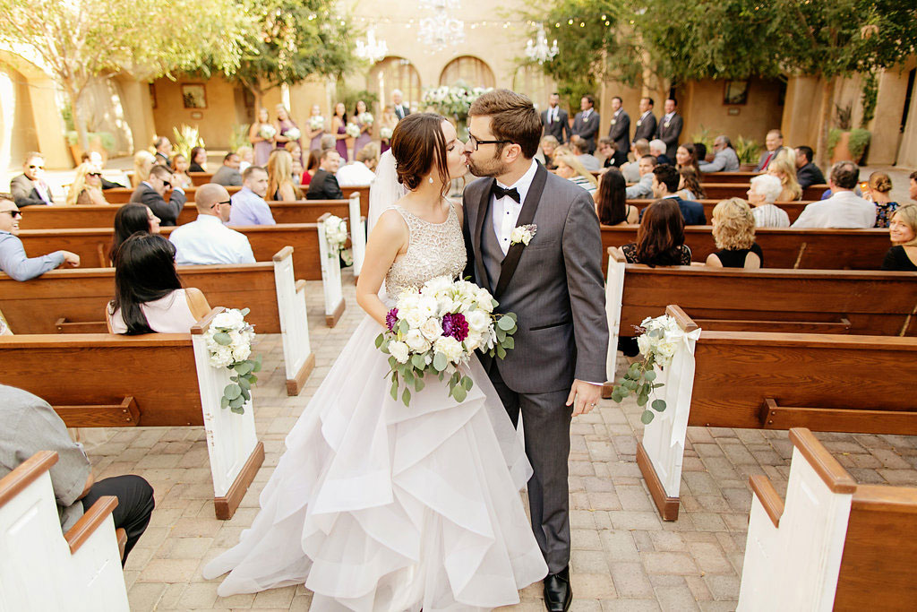 Lilac Wedding at Serra Plaza Orange County by Chard Photography and Lucky Day Events Co.