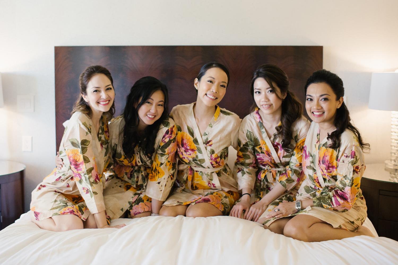 Plum pretty sugar bridesmaid robe