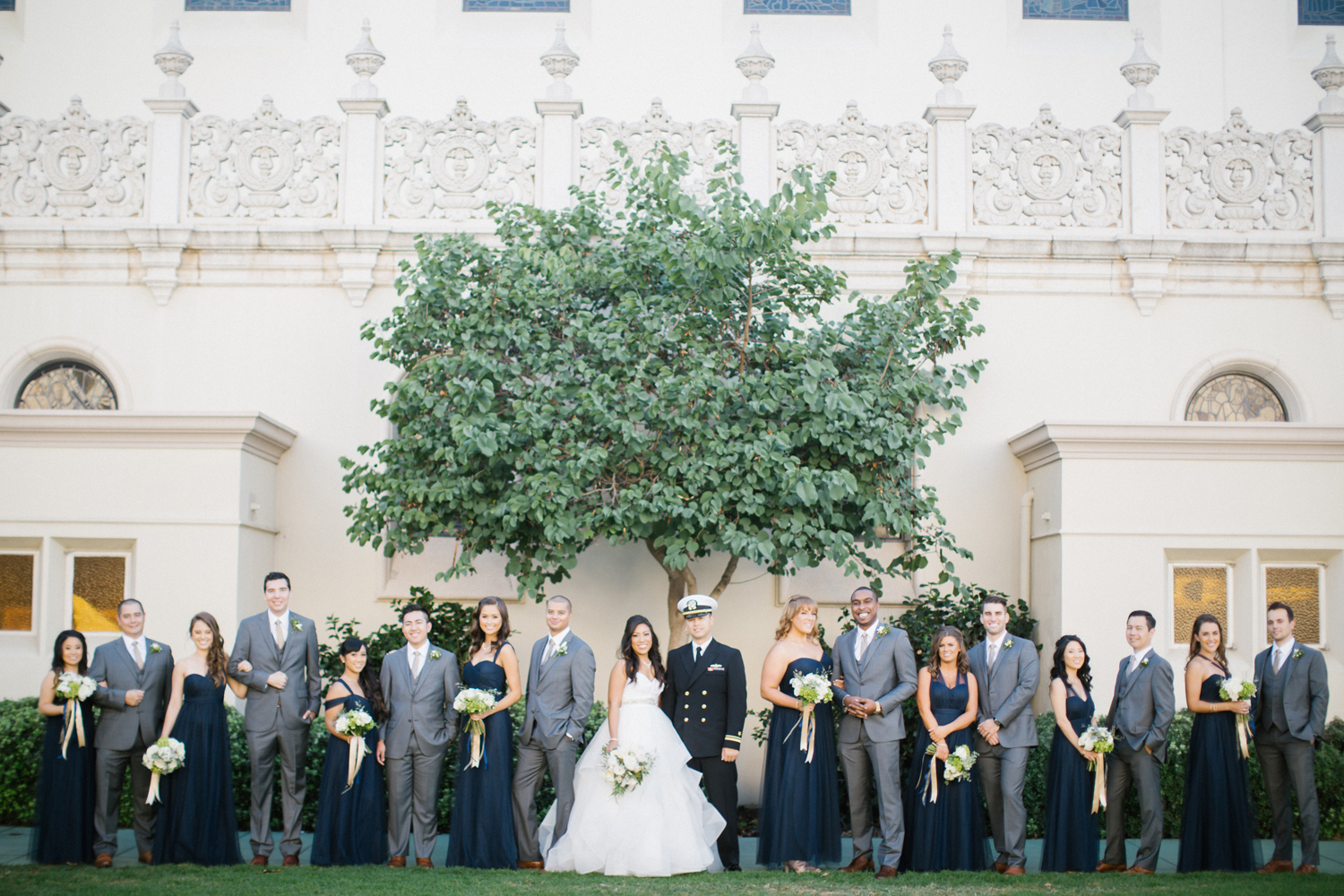 Navy San Diego Wedding // Lucky Day Events Co. // Aaron Young Photography