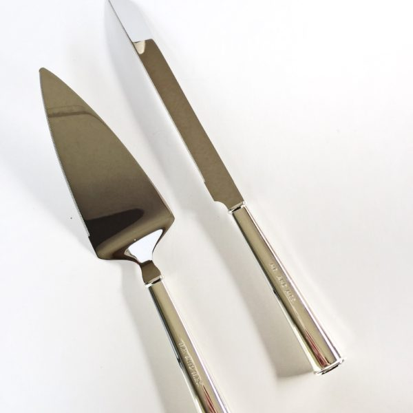 Lucky Rentals // Kate Spade Cake Knife and Server // Southern California Wedding Detail Rentals // Lucky Day Events Co.
