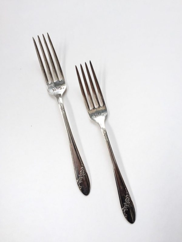 Lucky Rentals // Cake Forks // Southern California Wedding Detail Rentals // Lucky Day Events Co.