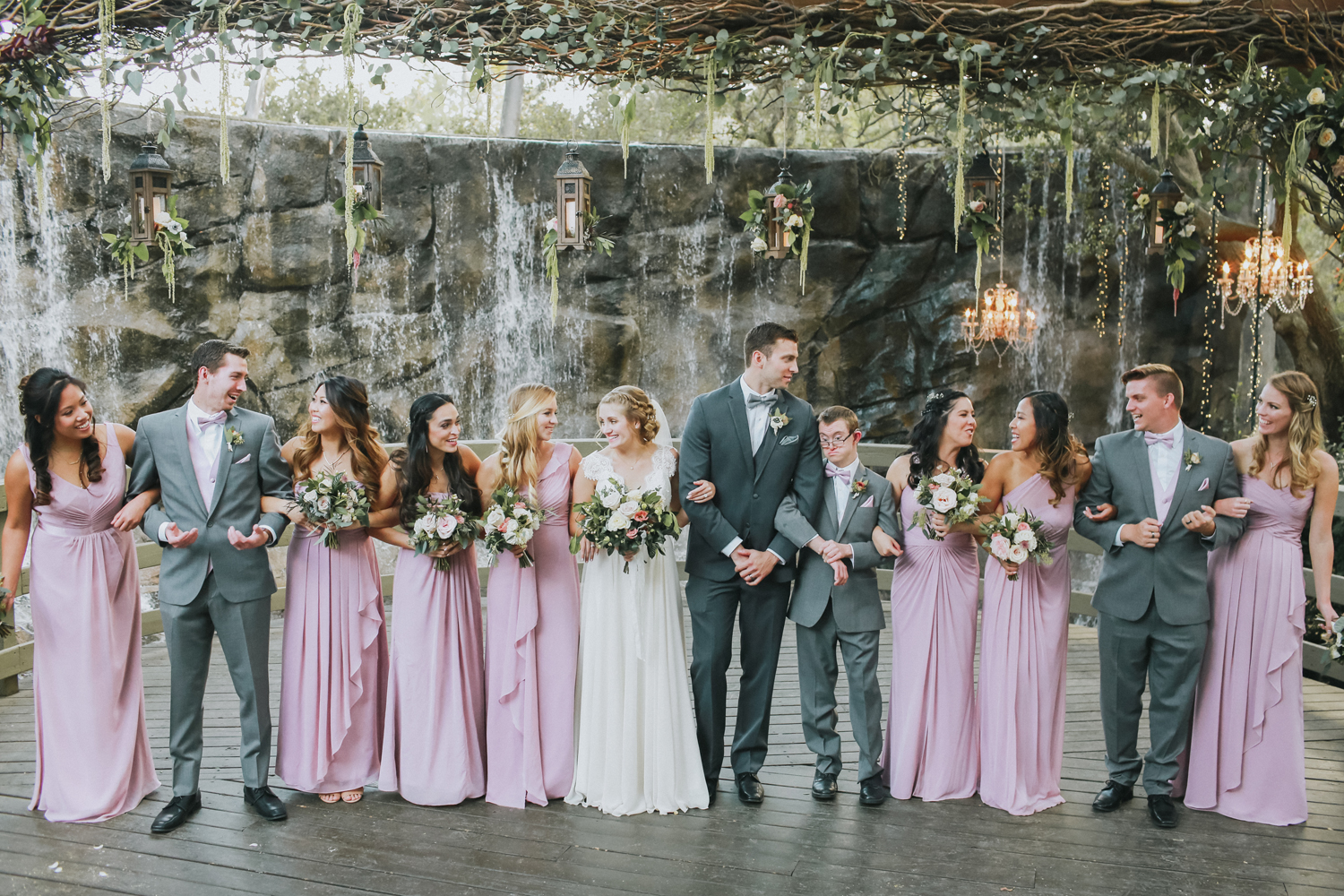 Lucky Day Events Co. // Forestry Films Photography and Videography // Dusty Rose Malibu Wedding // Calamigos Ranch // Moody Wedding Photography