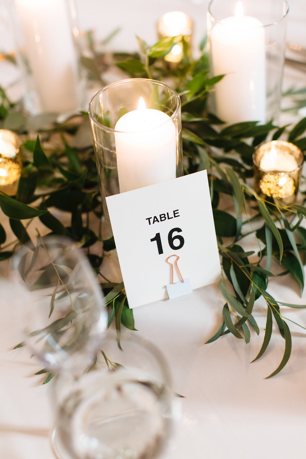 Copper table number, minimal table number