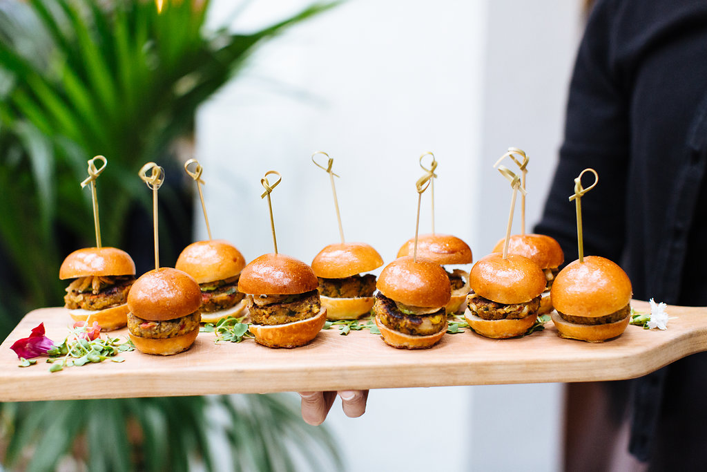 Cocktail hour sliders