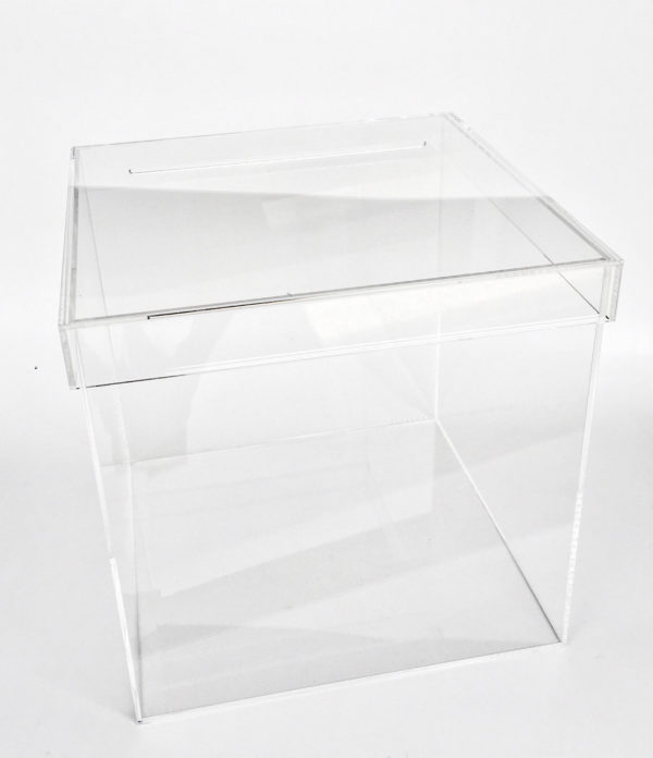 Lucky Rentals // Acrylic Card Box // Southern California Wedding Detail Rentals // Lucky Day Events Co.