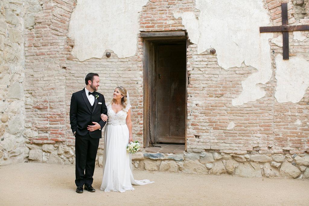 Taylor + Mark // Garden Wedding // Alyssa Marie Photography // Lucky Day Events Co. // Franciscan Gardens
