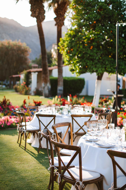 La Quinta Resort Wedding Tables