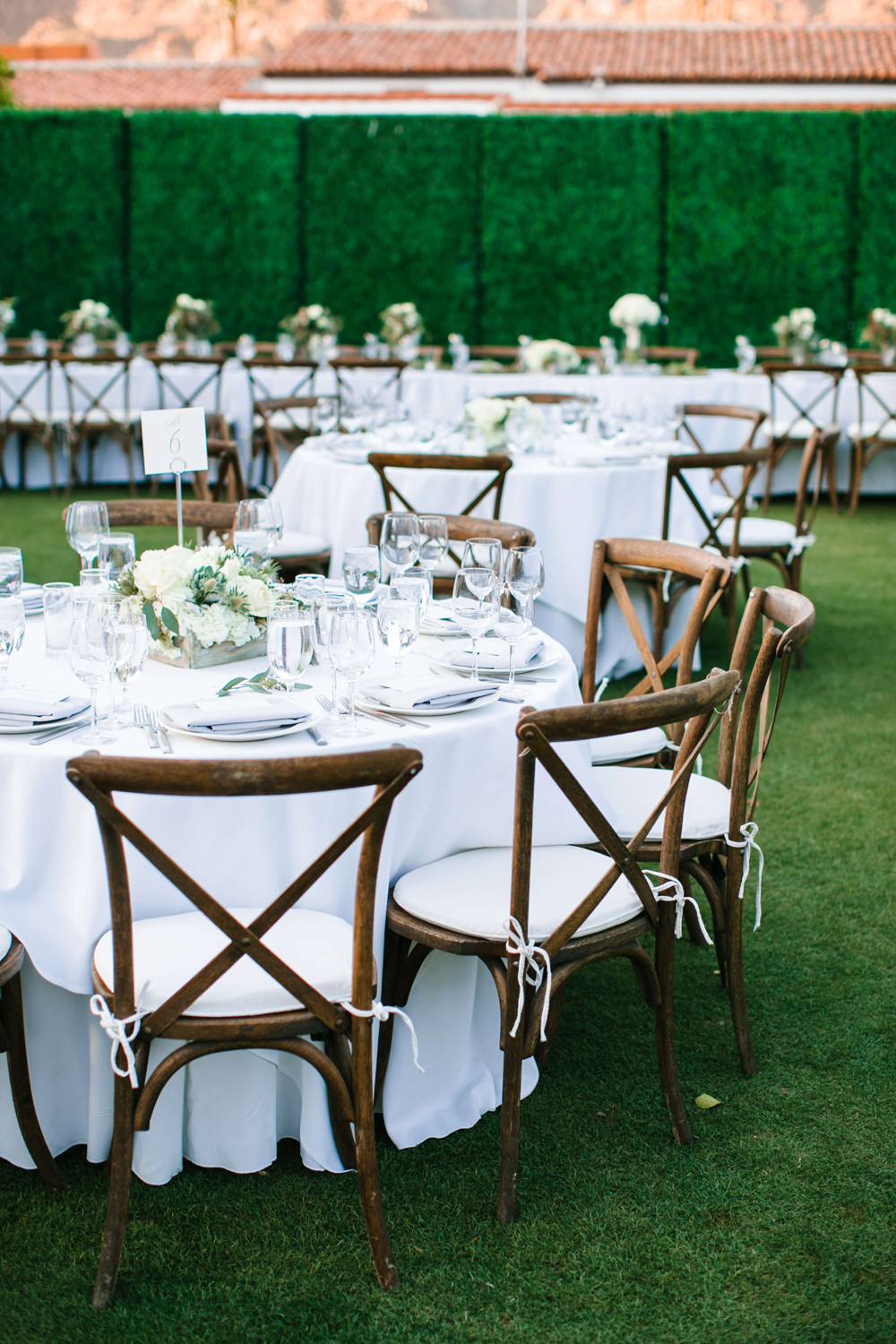 La Quinta Resort Wedding Tables