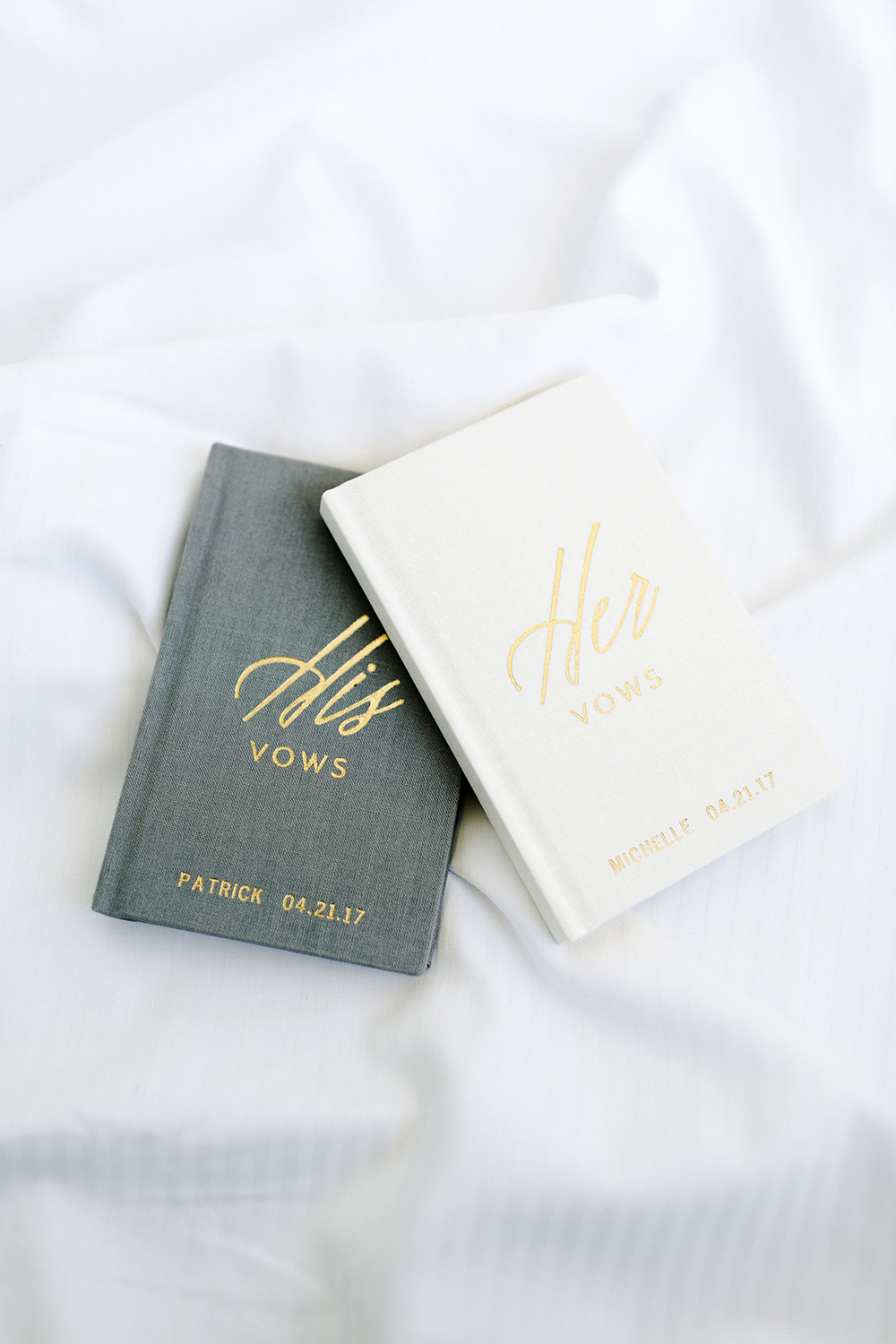 his and hers bhldn vow books