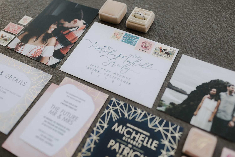 moody invitations wedding