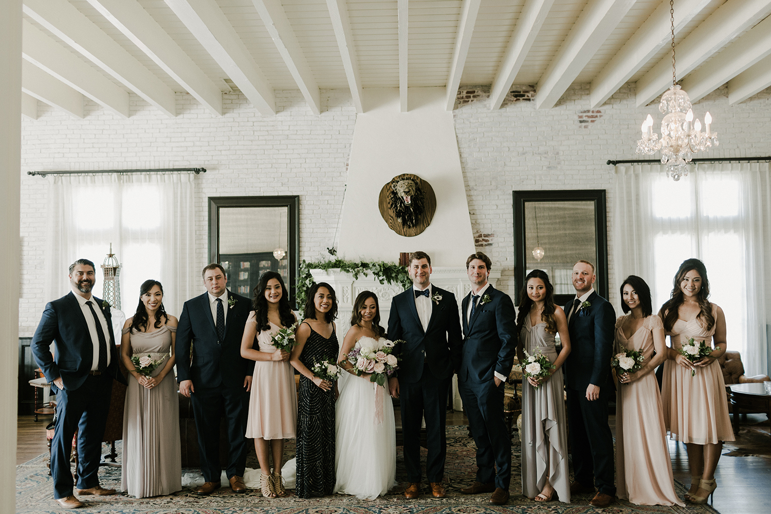 Michelle + Patrick Moody Romantic Wedding // Morgan Hydinger Photography // Lucky Day Events Co. // Ebell Long Beach