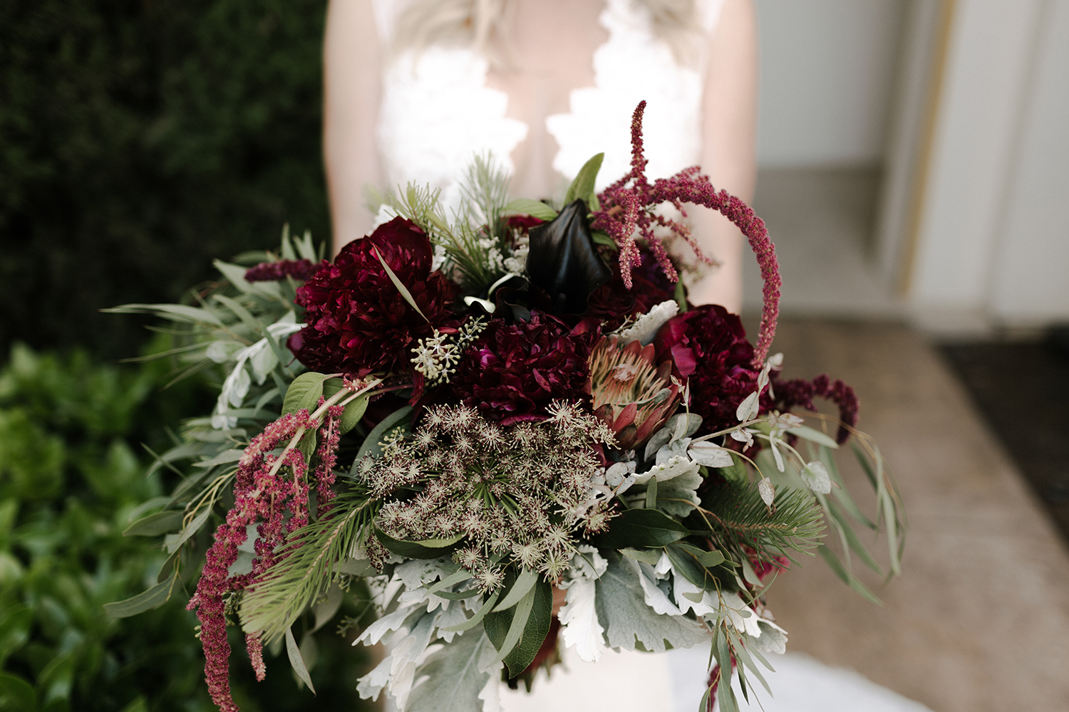 Marsala Merlot Wedding