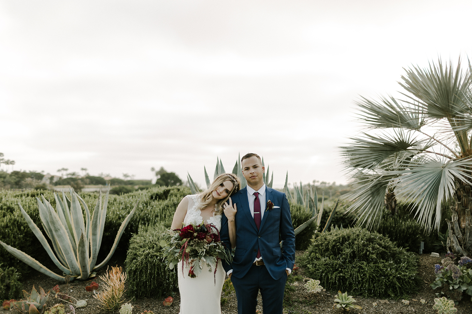 Merlot Colored Wedding / Monarch Beach Resort Wedding / Oceanfront Wedding / Greenery / Lucky Day Events Co. / Morgan Hydinger Photography and Videography