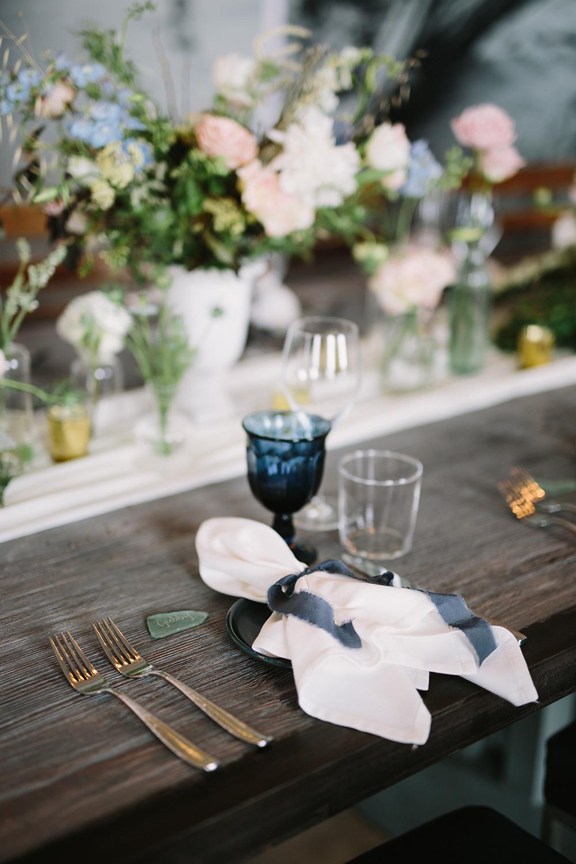 navy blue goblets