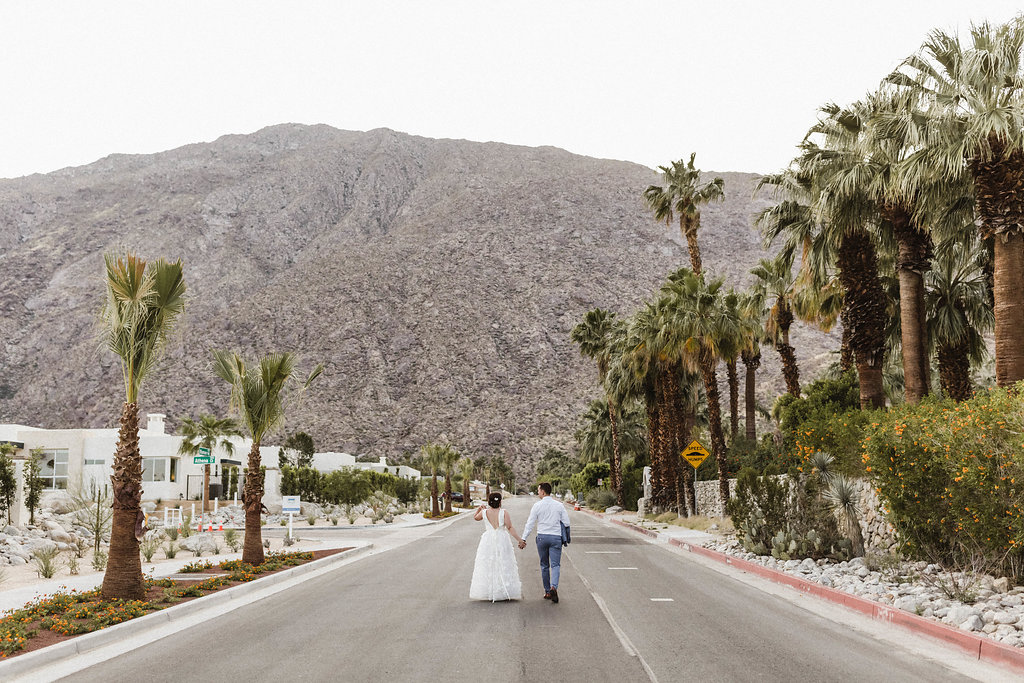 Modern Avalon Palm Springs Wedding