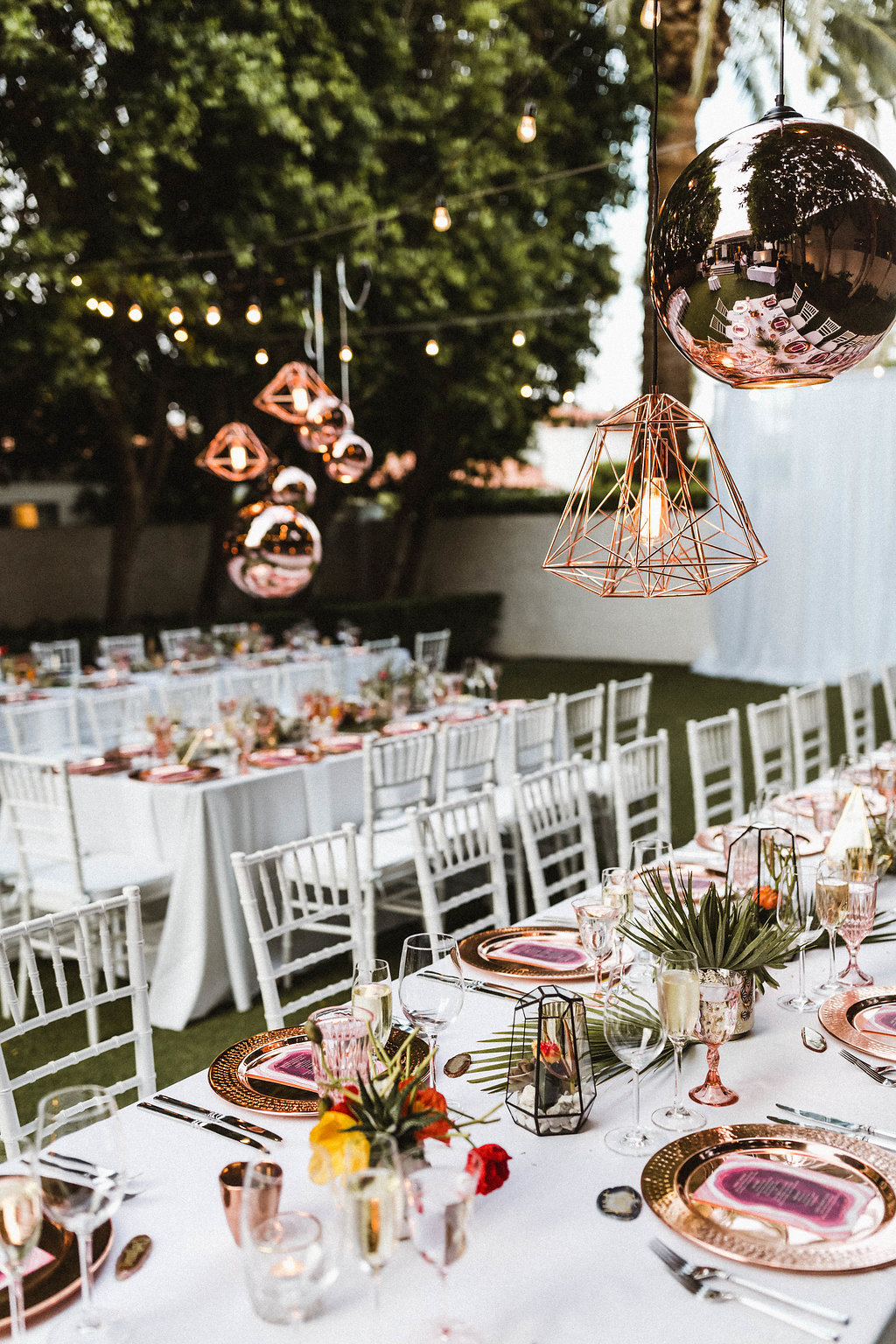 Avalon Palm Springs Wedding // Sarah Falugo Photography // Lucky Day Events Co. // Modern Desert Wedding