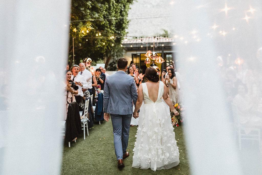 Modern Avalon Palm Springs Wedding