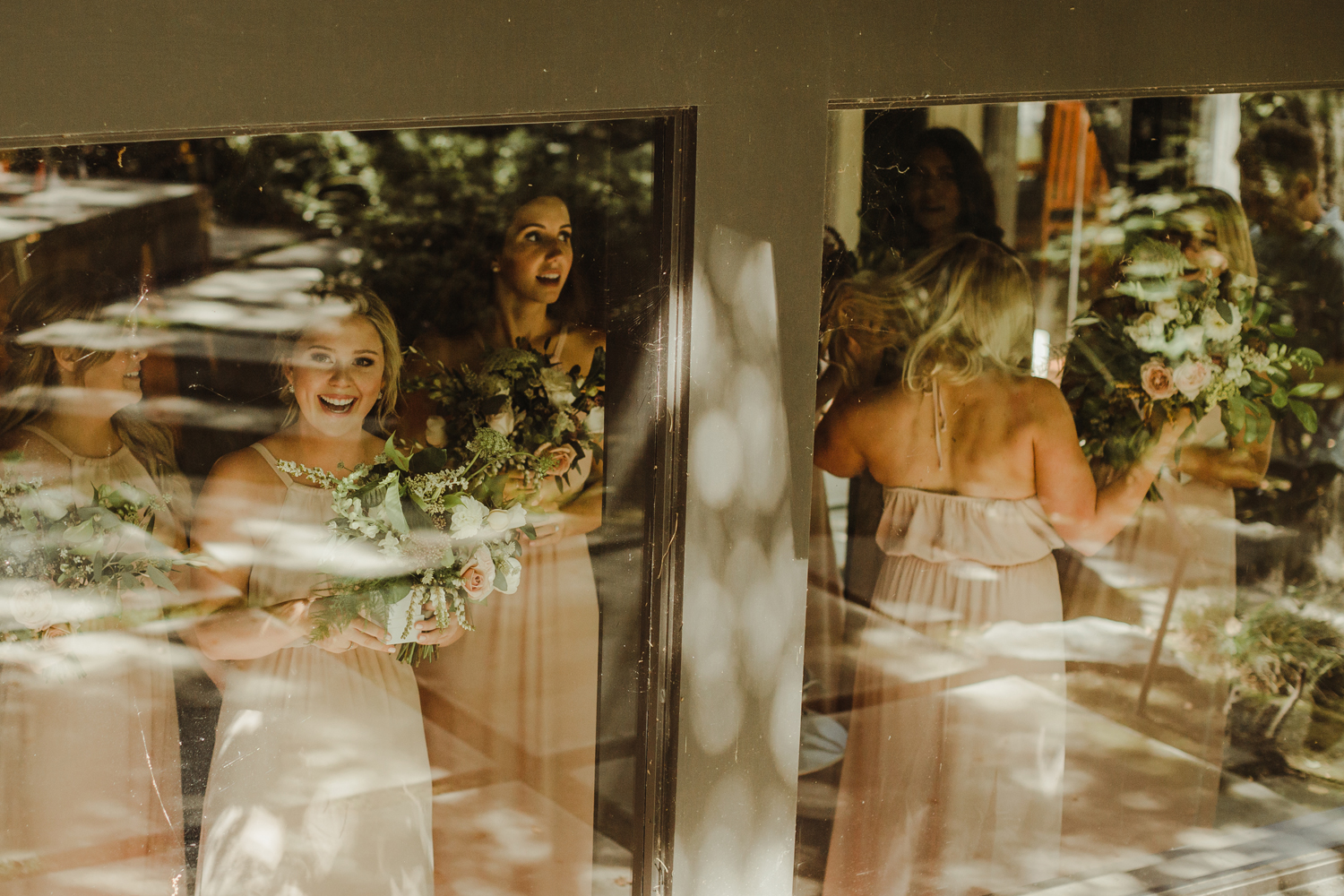 blush show me your mumu bridesmaids