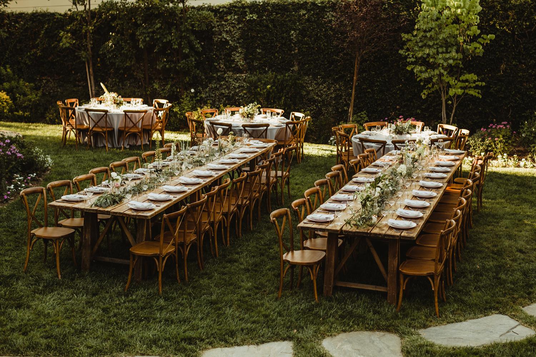 farm table wedding
