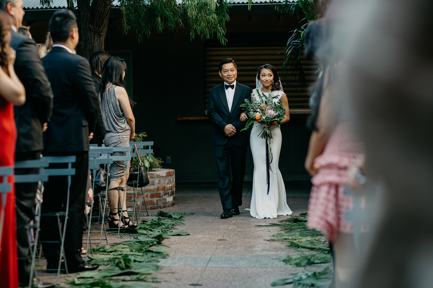Terry + Nancy Millwick Wedding / Modern Los Angeles Wedding / LA Wedding / Moody Photography / Moody Wedding / DTLA Wedding / Millwick / Rachel Gulotta Photography / Lucky Day Events Co.