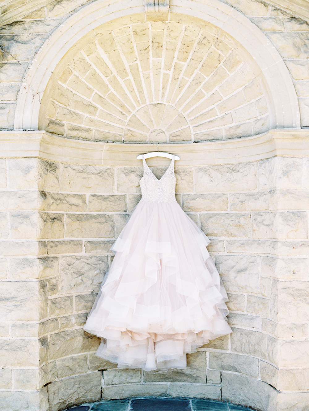 Romantic and Classic Greystone Mansion Wedding by Lucky Day Events Co. x Jordan Galindo Photography // Hayley Paige Wedding Dress