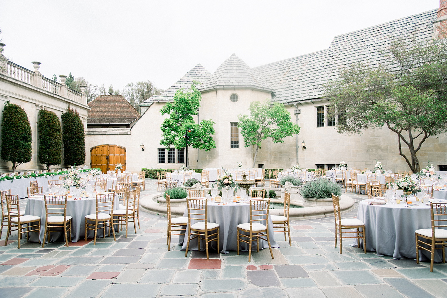 Classic Cinderella wedding at the Greystone Mansion
