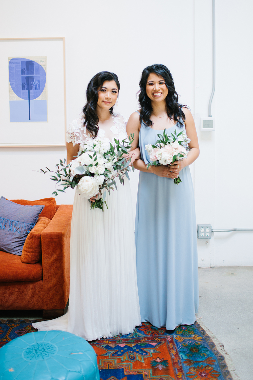 Show Me Your Mumu Blue Bridesmaid Dress
