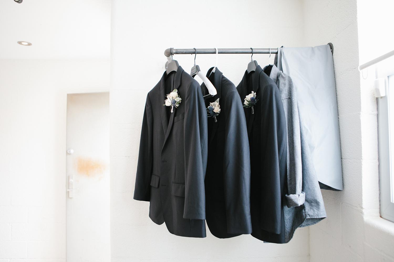 Navy groomsmen jackets