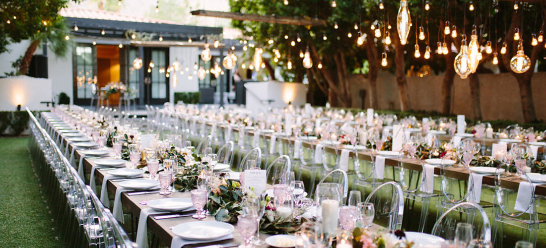 Avalon Palm Springs wedding reception