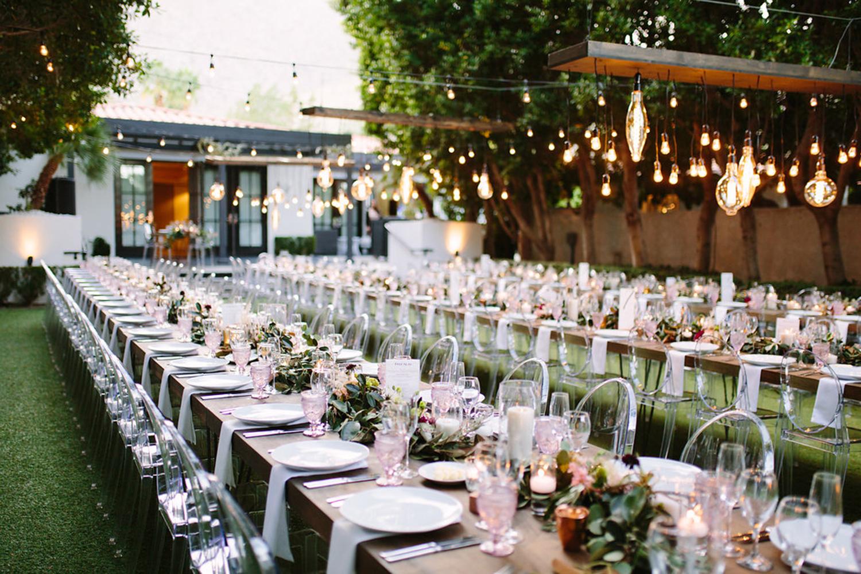 Avalon Palm Springs wedding reception