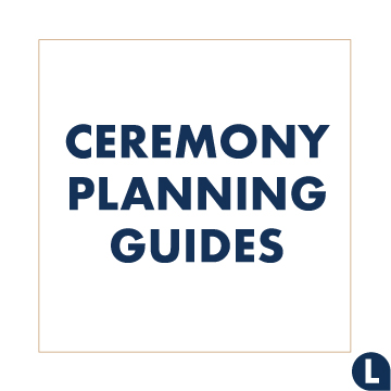 A guide to planning your ceremony standing and sitting order