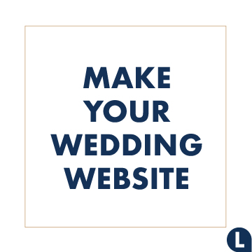 Websites we love to make your wedding website