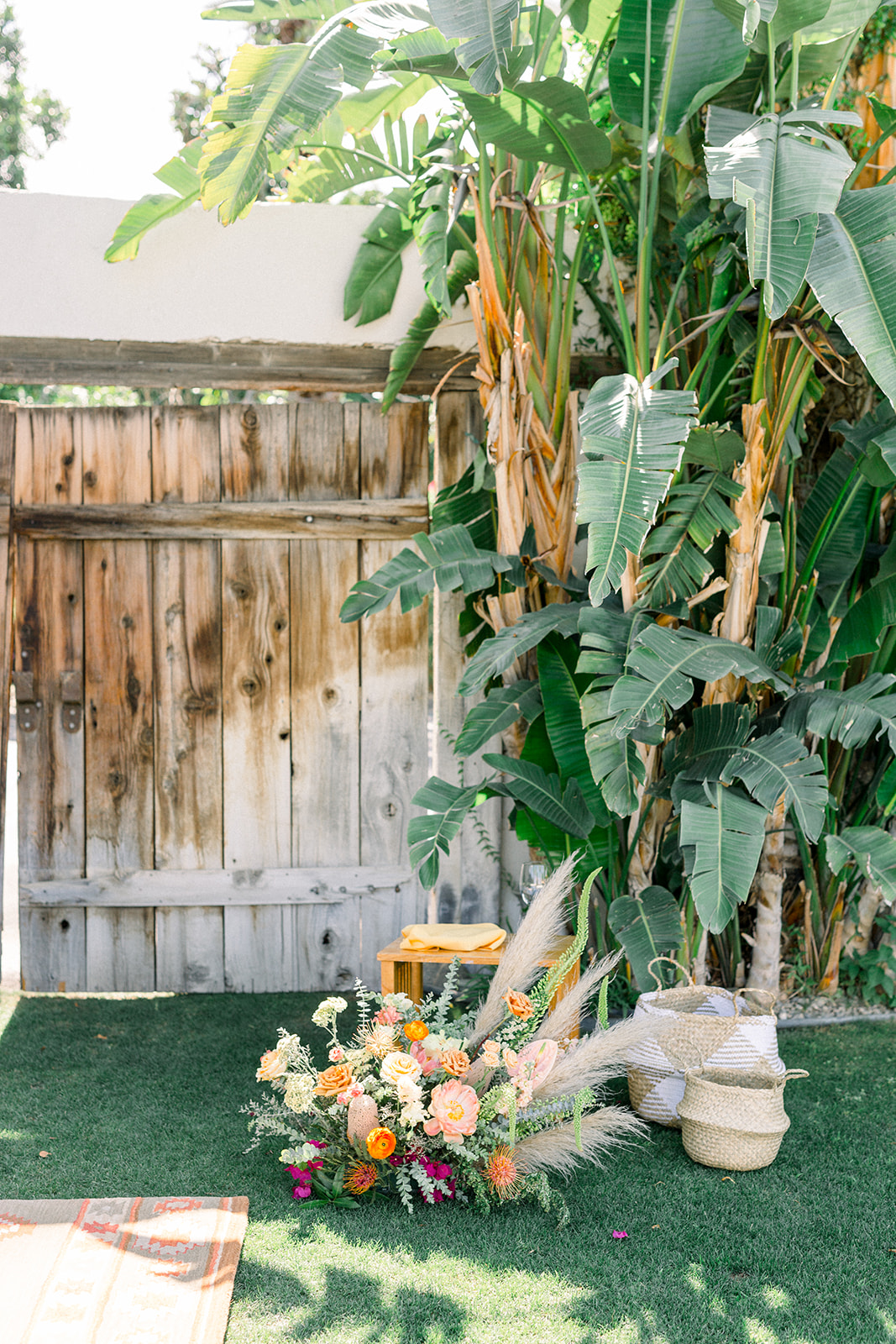 Bright bohemian wedding at Cree Estate by Lucky Day Events Co.