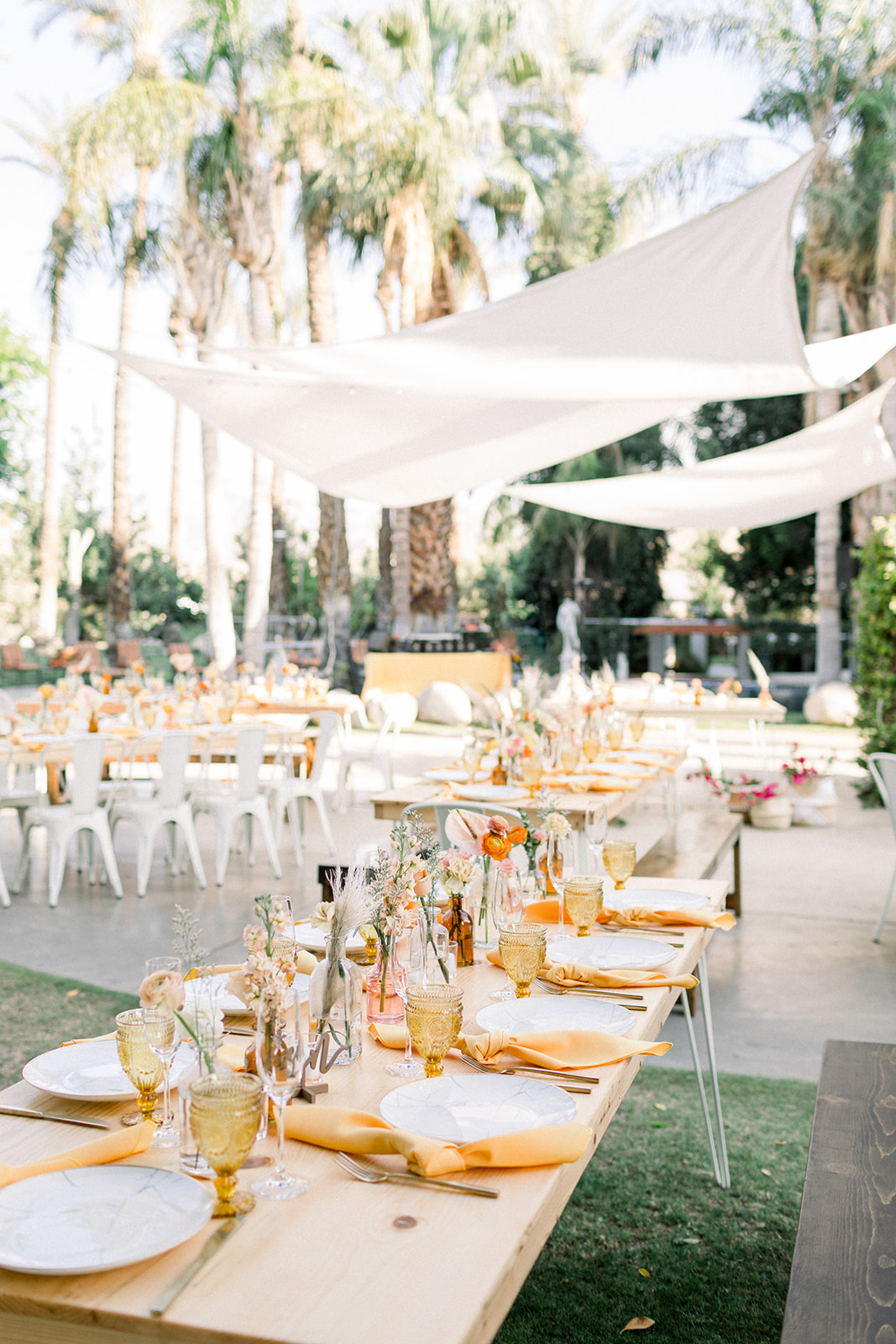 Colorful bohemian wedding in Palm Springs by Lucky Day Events Co.