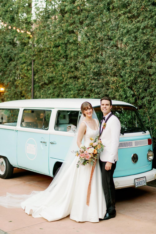 Photo Bus at Orange County Wedding