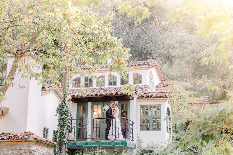 Rancho Las Lomas Micro-Wedding with Lucky Day Events Co. / Micro-Wedding / Intimate Wedding / Dusty Blue Wedding