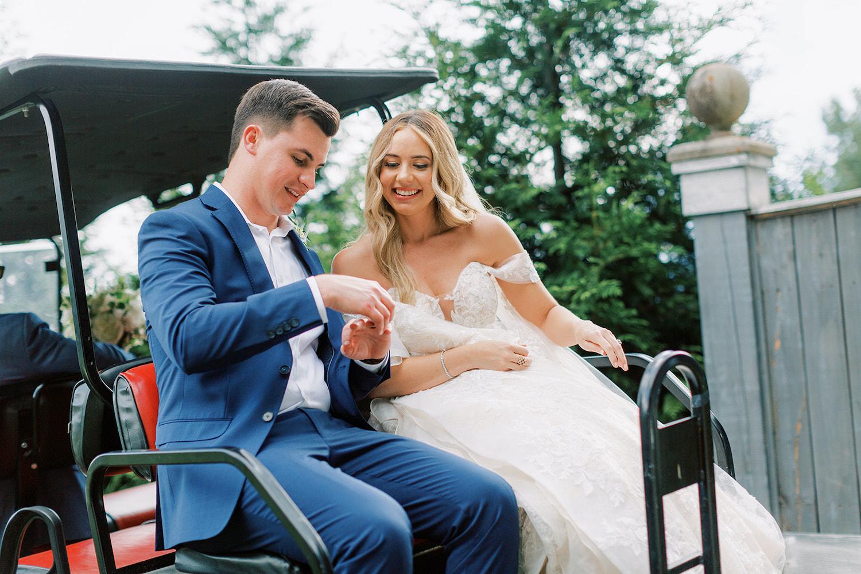 Golf Cart Wedding