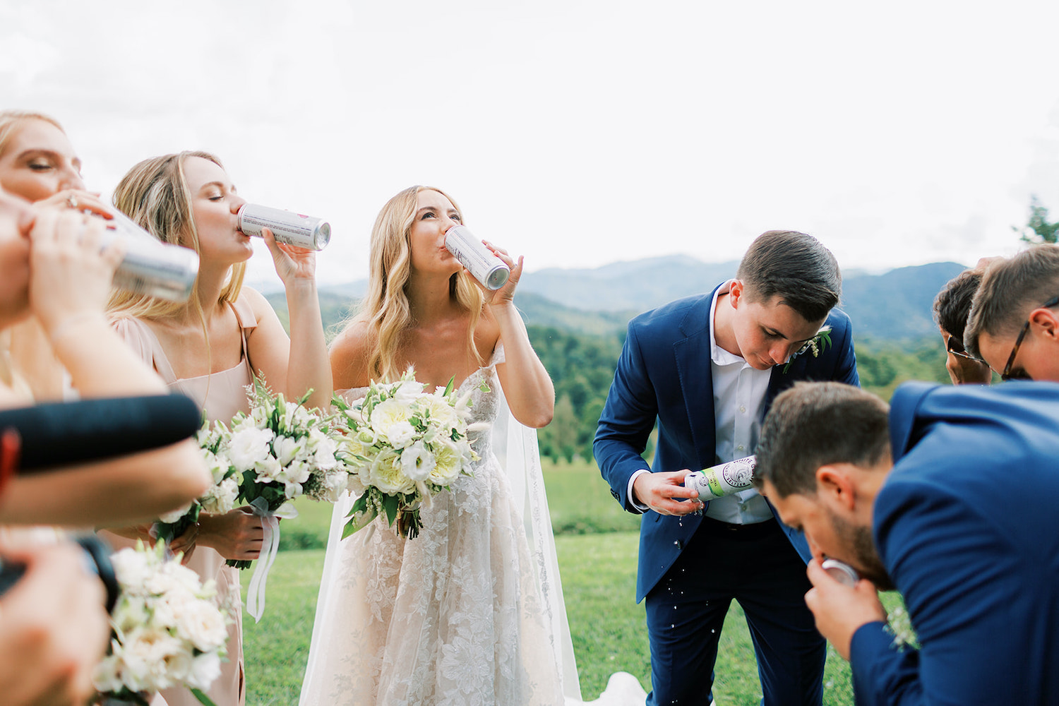 Drinking Bridal Party