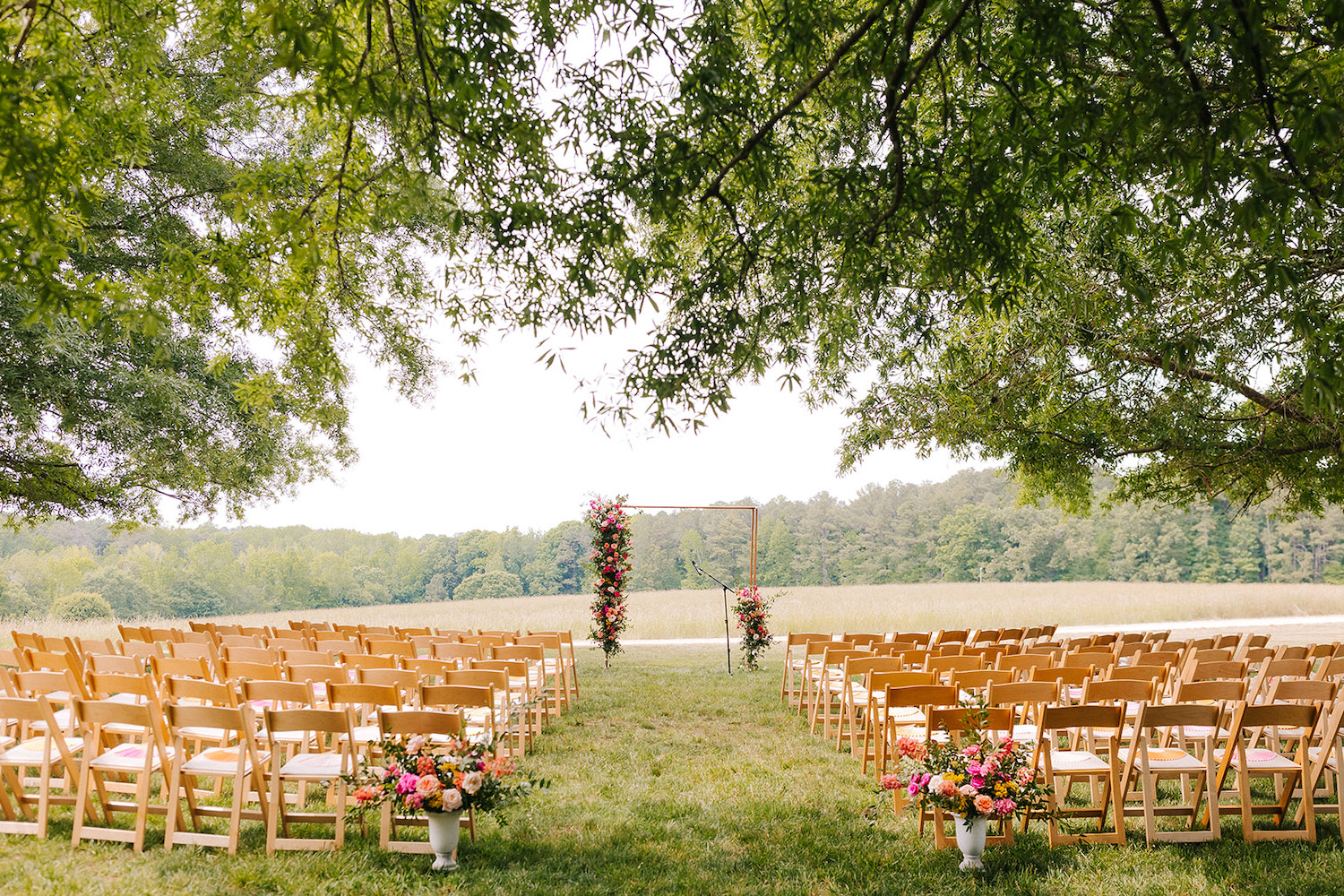 The Meadows Raleigh Ceremony