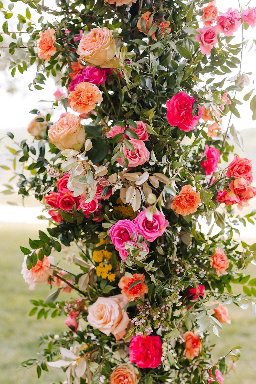 Bright Ceremony Florals
